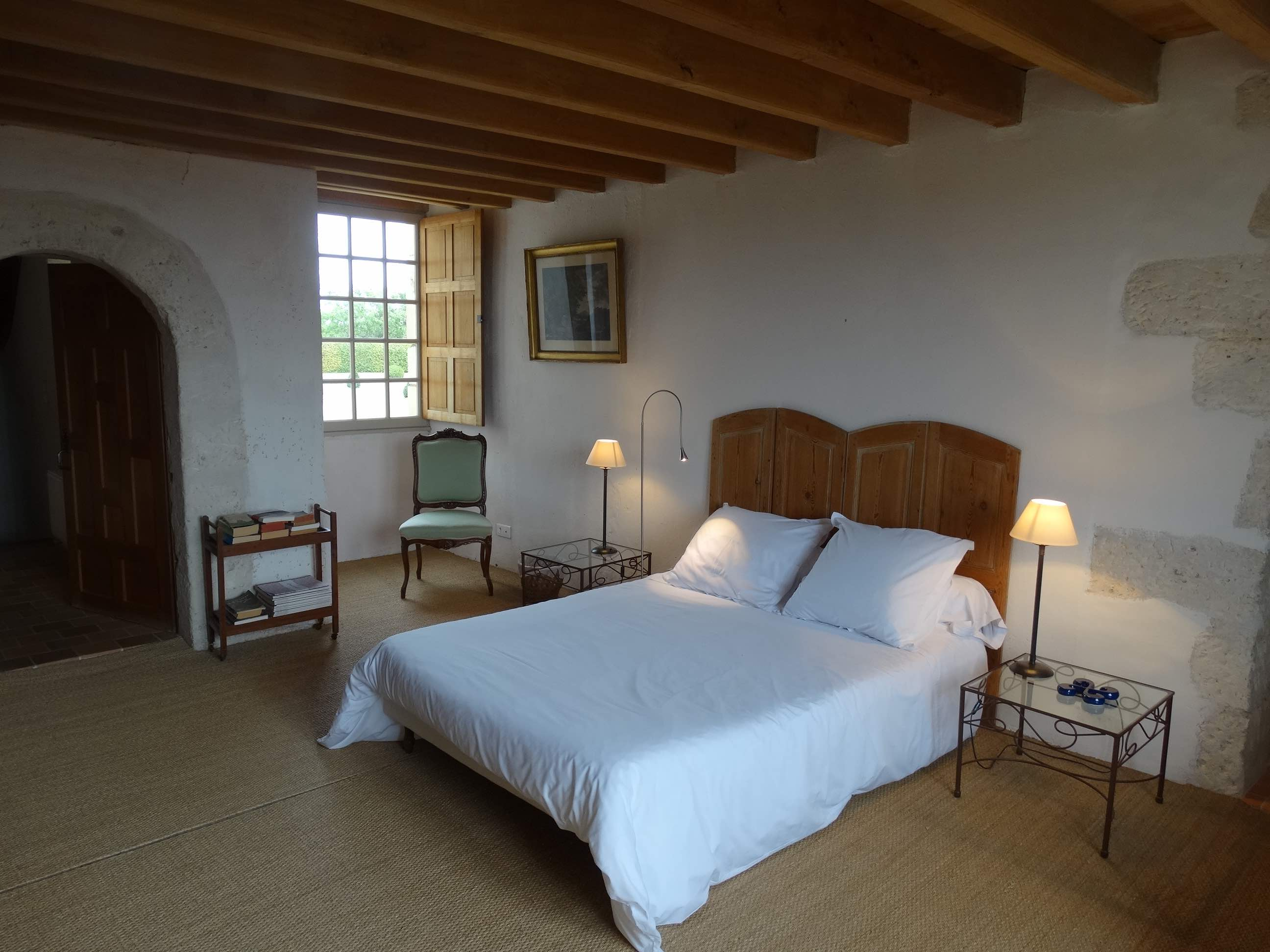 The Charlotte's bedroom, Manoir de Puymangou, France